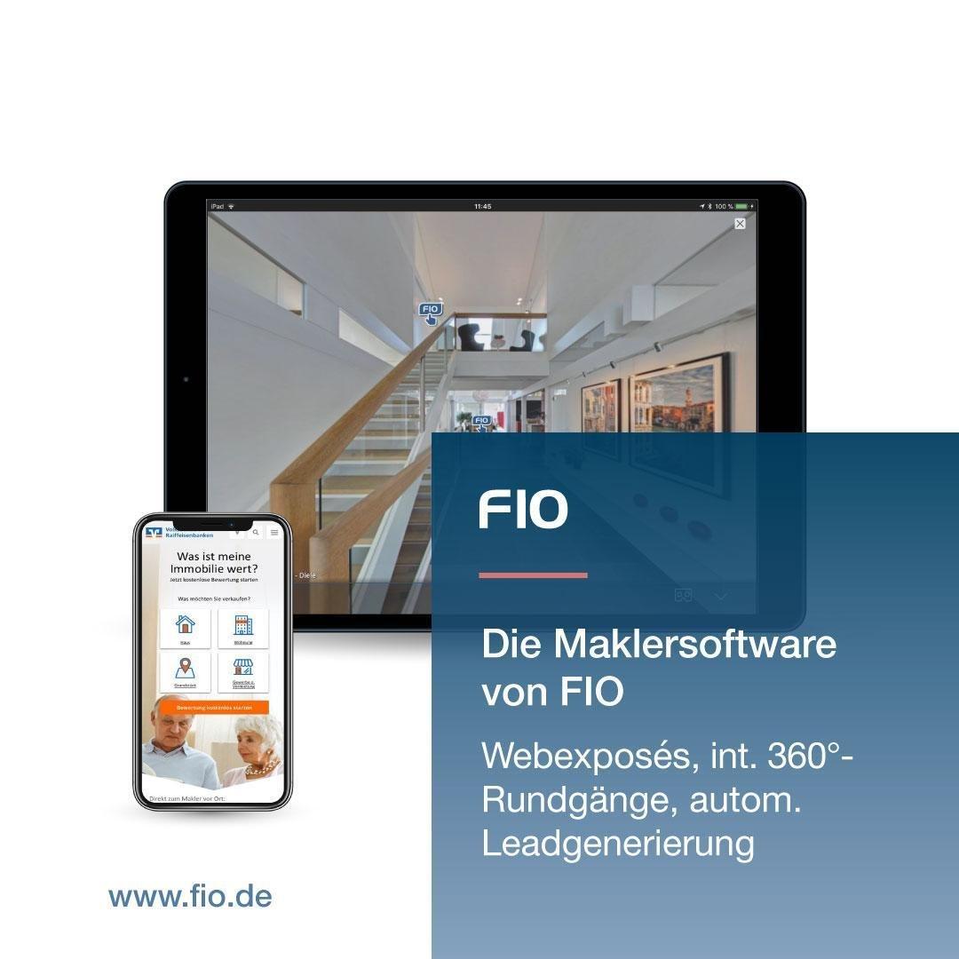 Bild 2 - FIO die webbasierte Maklersoftware